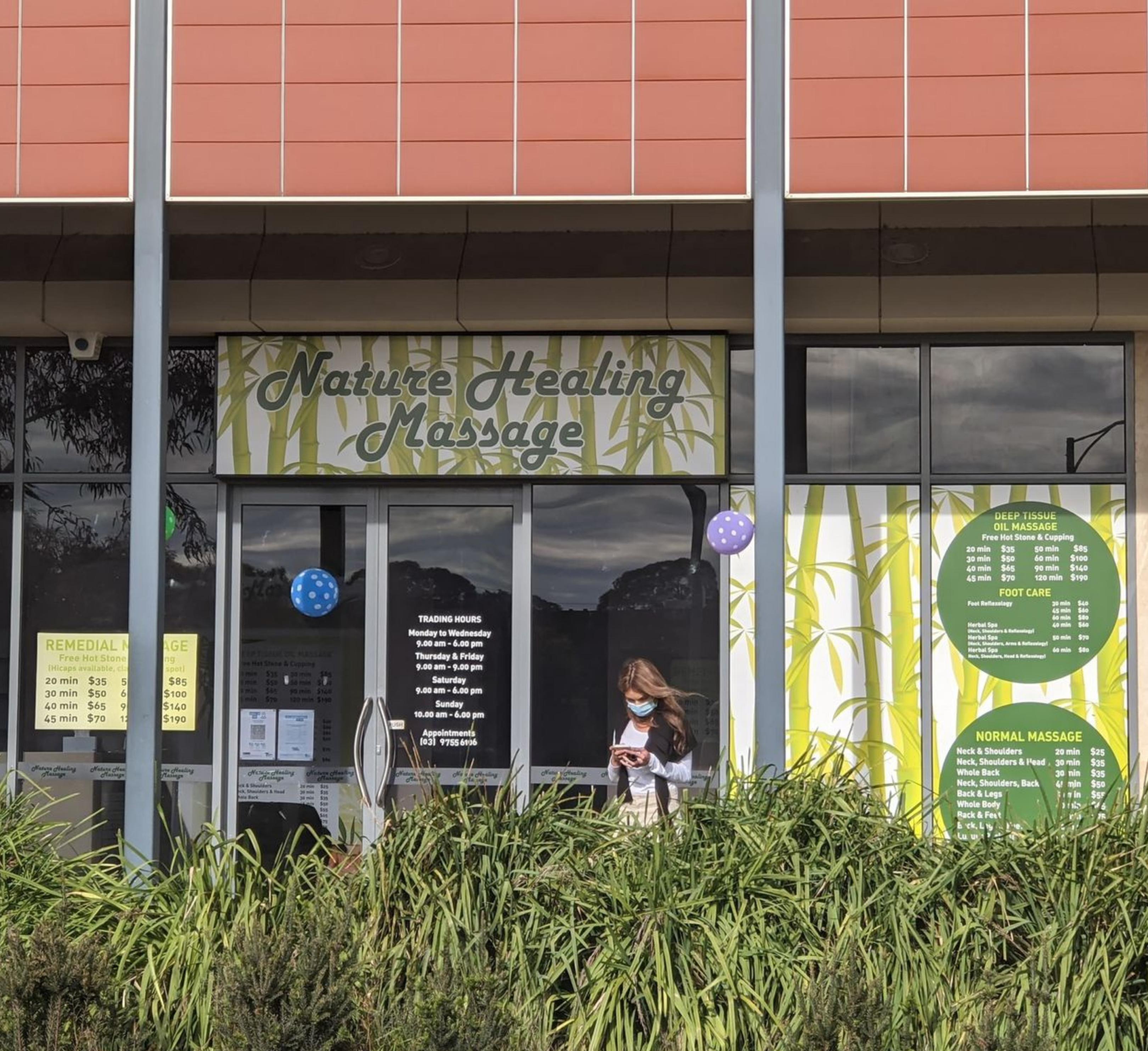 Image of Nature Healing Massage shopfront
