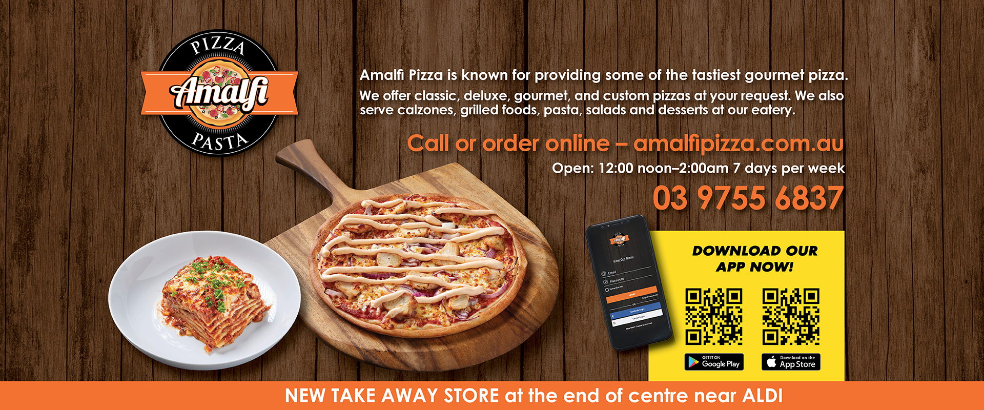 Amalfi Pizza ad